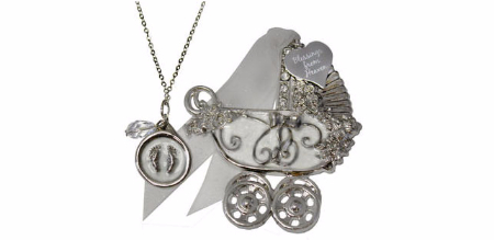 New Baby Ornament and Pendant Set