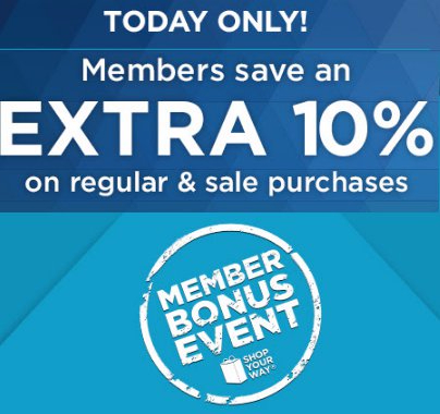 Members Save an Extra 10% on Regular & Sale Purchases