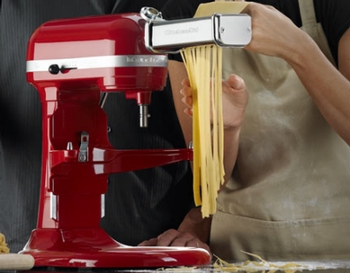 The KitchenAid Pasta Roller Attachment at Sears