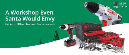 Up to 50% Off Featured Craftsman Tool