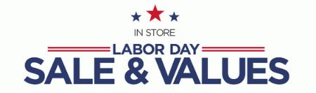 Huge Labor Day Savings at Sears