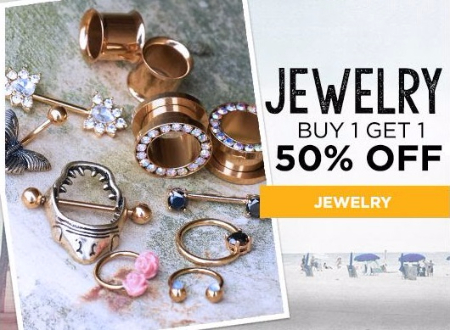 BOGO 50% Off Jewelry