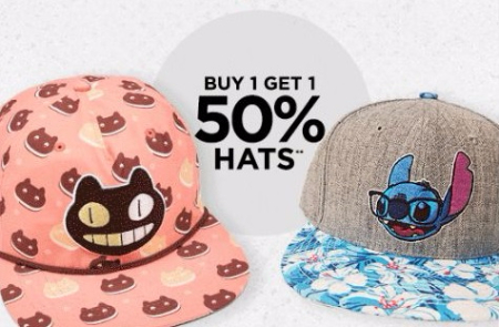 BOGO 50% Off All Hats