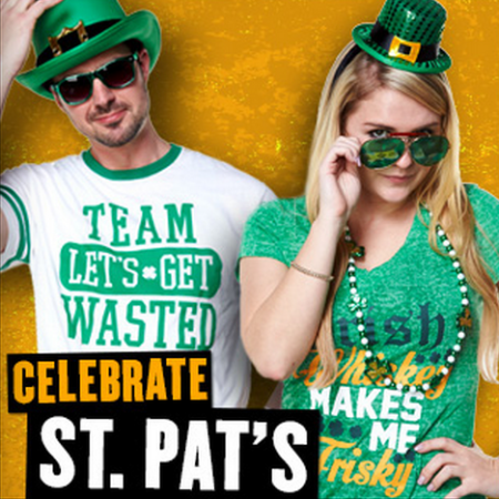 Celebrate St. Pat's at Spencer's Gifts