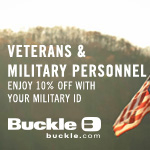 Military Personnel receive 10% off purchase