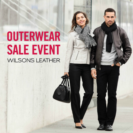 Outerwear Sale Event!  Extra 40% Off