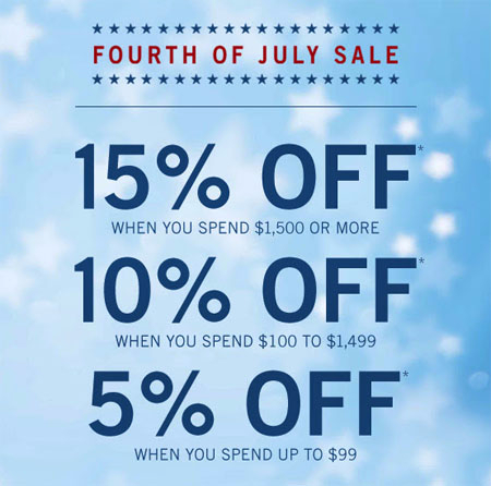 Fourth of July Sale at Zales