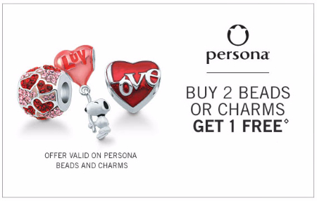 Buy 2 Beads or Charms Get 1 Free
