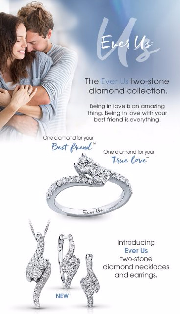 Introducing Ever Us Two-Stone Diamond Necklaces & Earrings
