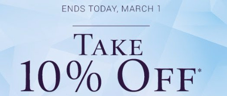 Take 10% Off Your Purchase