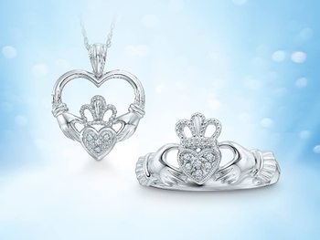 Our Selection of Claddagh Styles at Zales