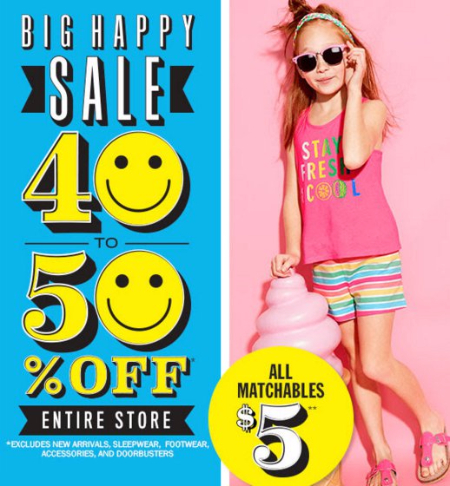 Big Happy Sale 40 to 50% Off