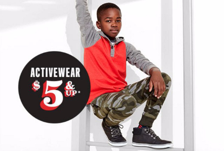 Activewear $5 & Up
