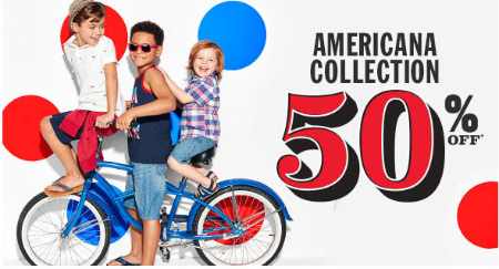 50% Off Americana Collection