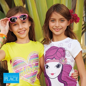 Graphic Tees and Shorts for Her! at The Children's Place
