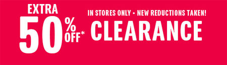 Extra 50% Off Clearance at The Children's Place