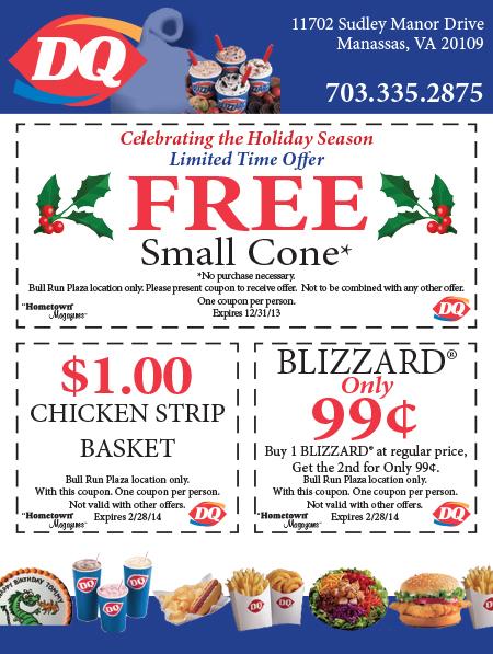 Dairy queen discount coupons