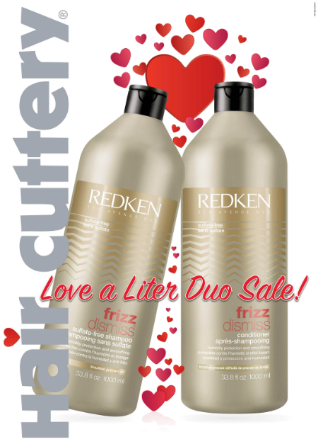 LOVE IS IN THE LITER at Hair Cuttery!