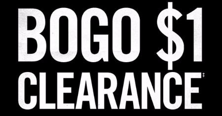 BOGO $1 Clearance