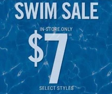 $7 Swim Sale