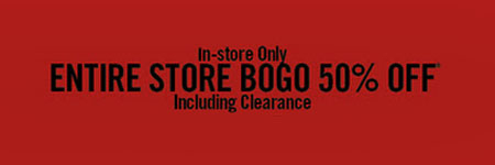 Entire Store BOGO 50% Off at Hot Topic