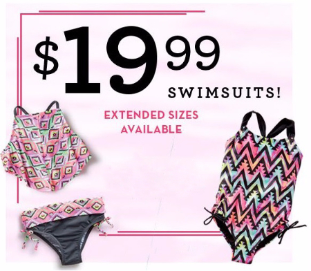 $19.99 Swimsuits