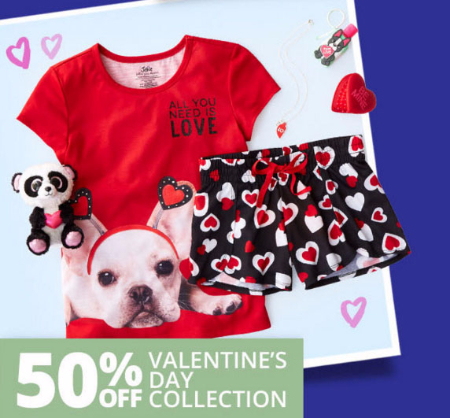 50% Off Valentine's Day Collection