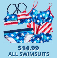 $14.99 All Swimsuits