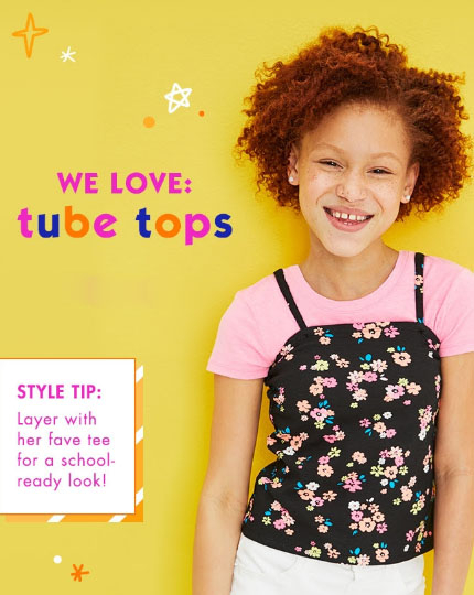 Justice | We Love: Tube Tops