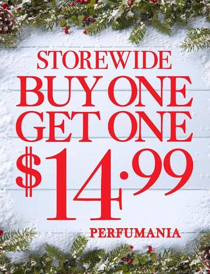 BOGO $14.99 on Select Fragrance Singles & Sets