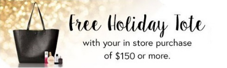 Free Holiday Tote with Purchase