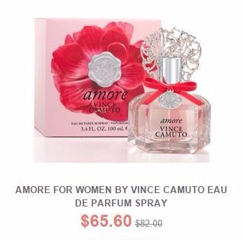 Amore for Women Eau De Parfum Spray Now $65.60