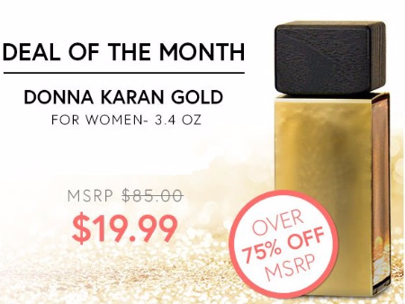 Donna Karan Gold Over 75% Off