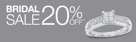 20% Off Bridal Sale at Piercing Pagoda