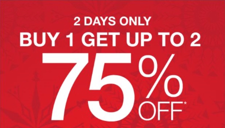 Buy 1, Get up to Two 75% Off Jewelry