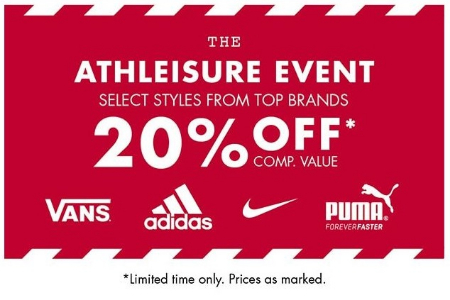 1fcfe0fb1b67 Eastwood Towne Center     The Athleisure Event 20% Off     DSW ...