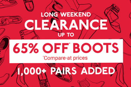 Up to 65% Off Clearance