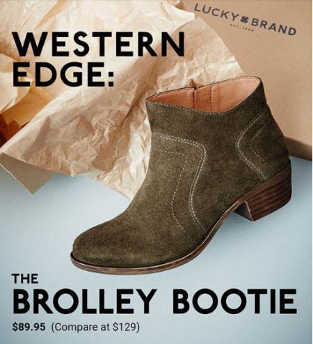 The Brolley Bootie for Only $89.95