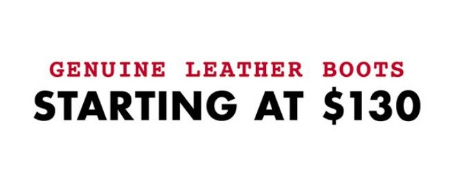 136a549cf09d Eastwood Towne Center     Genuine Leather Boots Starting at  130 ...