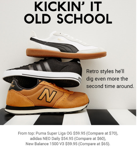 Save on Select Retro Styles