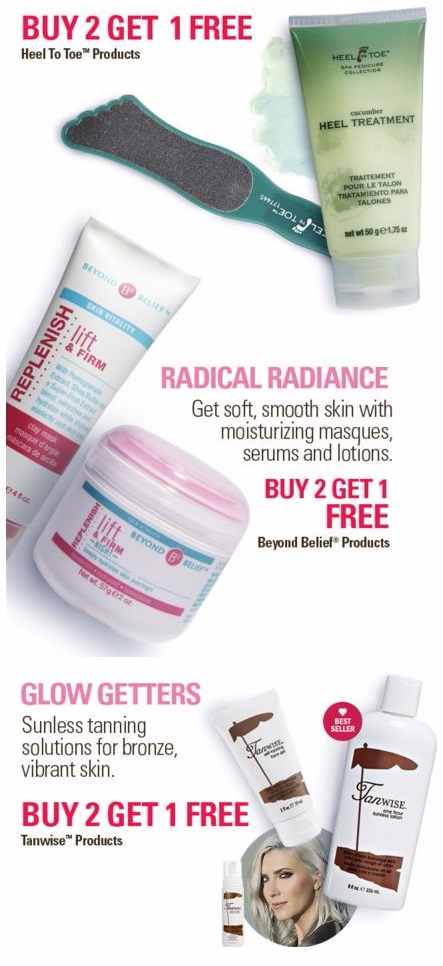 B2G1 Free Heel To Toe Products & More