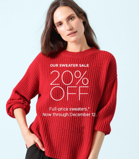 Derby Street Shops 20 Off Sweater Sale Eileen Fisher