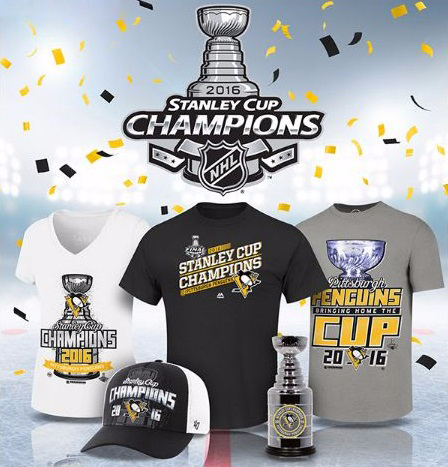 Shop the Pittsburgh Penguins Championship Gear