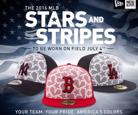 Shop the 2016 MLB Stars & Stripes Collection