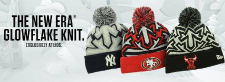 The New Era of Glowflake Knit at Lids