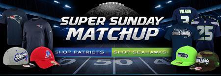 Super Sunday Matchup at Lids