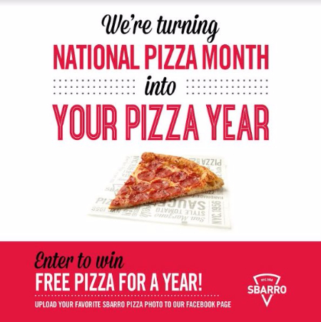 We're Returning National Pizza Month to Your Pizza Year