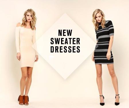 New Sweater Dresses