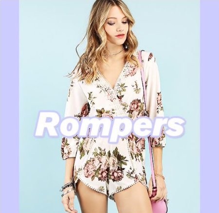 New Most-Wanted Rompers and Jumpsuits