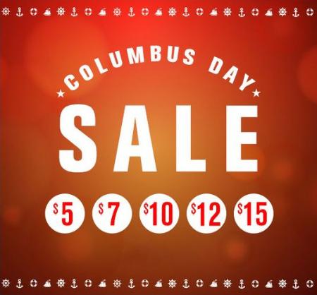 Columbus Day Sale Starting at $5 at Papaya Clothing Co.